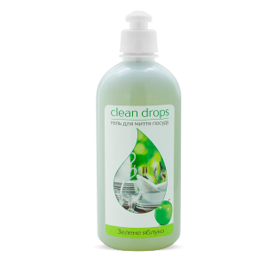 "Gel for washing dishes ""Green apple"", 0,5l"