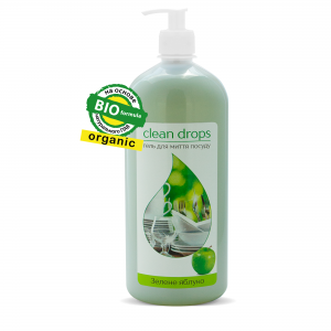 "Gel for washing dishes ""Green Apple"", 1L"
