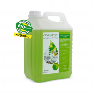 "Gel for washing dishes ""Green Apple"", 5l"