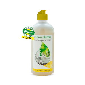 "Gel for washing dishes ""Juicy lemon"", 0,5l"